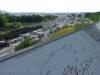 Blick über die Baustelle des Bahnprojekt Stuttgart-Ulm