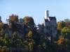 Schloss Lichtenstein im Herbstlicht