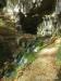 Blick zurück zur Falkensteiner Höhle