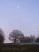 Mond über der Alb