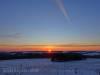 Sonnenaufgang vom Gänsewag aus gesehen