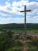 Blick vom Kreuzfelsen auf Burladingen