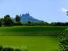 Burg Hohenzollern mit Golfplatz