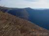 Blick über den Tobel hinweg zum Wielandstein