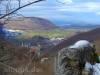 Blick vom Hohgreutfels zum Wielandstein