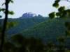 Blick zur Burgruine Hohenneuffen