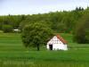 Rohrauer Hütte hinter Schutzhütte