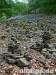 Steinhalde mit Steinmännchen