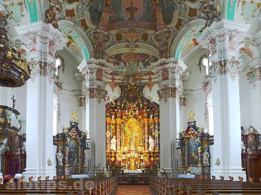 Oberschwäbische Barockkirchen: die Dorfkirche in Steinhausen