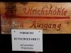 Hinweisschild zur Ulrichhöhle