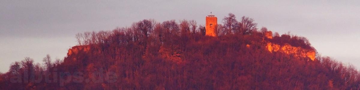 Achalm - Zeugenberg zwischen Reutlingen und Eningen