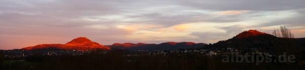 Panorama-Blick vom Hügel im Sport- und Freizeitpark Markwasen