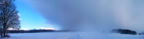 Schneeschauer bei Stahleck