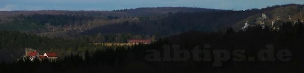 Burg Derneck und Burgruine Hohengundelfingen