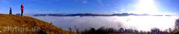Vom Nebelmeer zum Jurameer