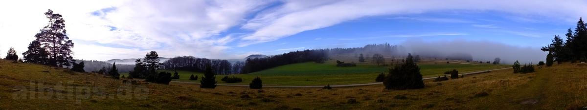 Traufgang Wacholderhöhe bei Albstadt