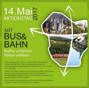 Aktionstag 14. Mai 2017 - Mit Bus & Bahn