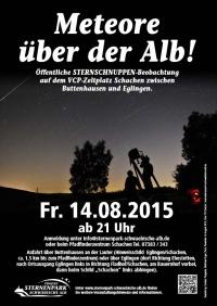 Meteore auf der Alb - Sternschnuppennacht auf dem Schachen
