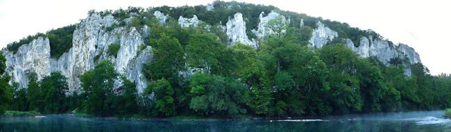 Frühmorgens im Donautal
