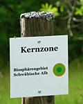 Kernzone Biosphärengebiet Schwäbische Alb