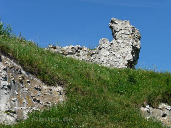 Burgdrache auf dem Flochberg