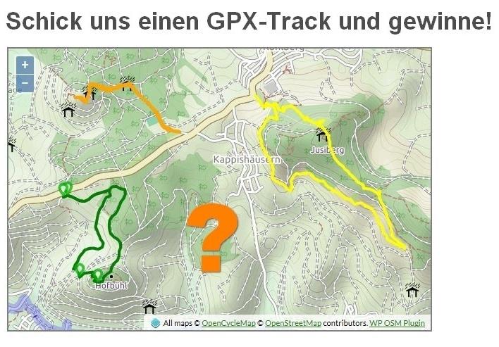 GPX-Tracks gesucht